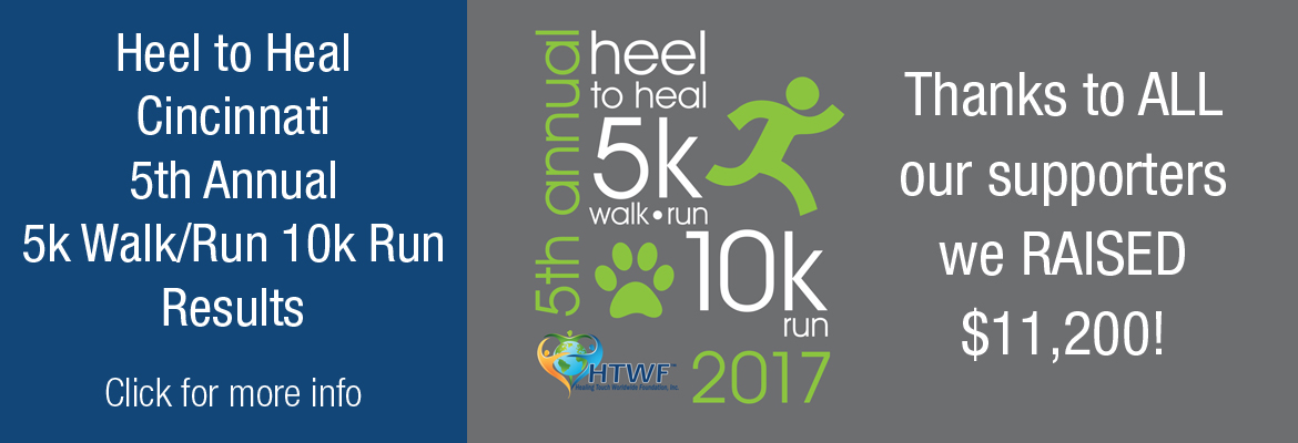 5th Annual Heel to Heal Walk/Run 2017 Thanks and Results